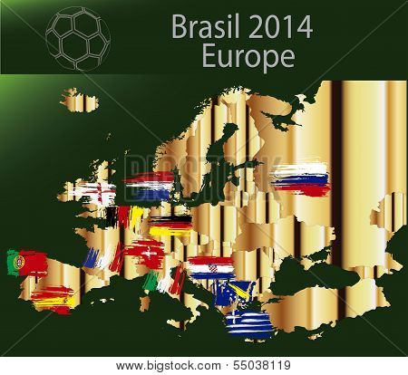 Brazil 2014 Team Europa