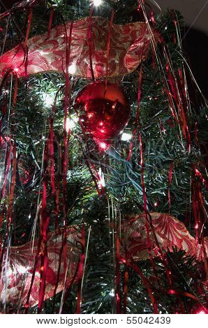 Decorations on a tree
