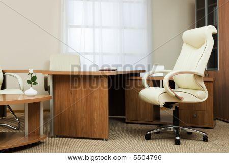 Sessel des Direktors