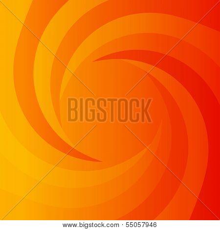 Abstract orange power background