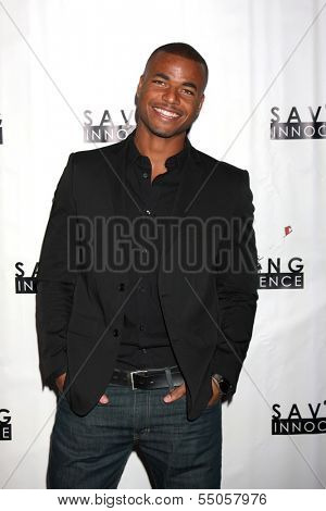 LOS ANGELES - DEC 5:  Redaric Williams at the 2nd Annual Saving Innocence Gala at The Crossing on December 5, 2013 in Los Angeles, CA