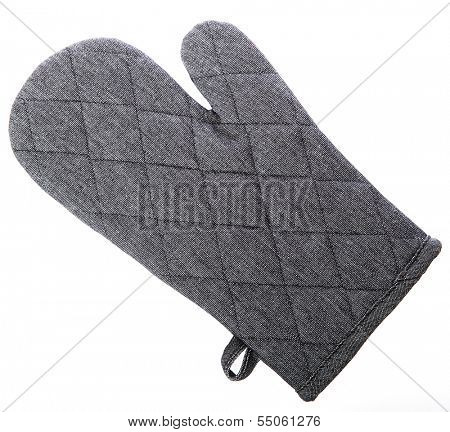 Oven Glove isolated on white background