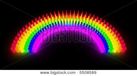 Men Ranbow Glow