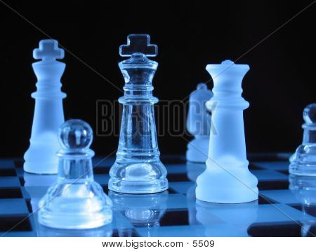 Glass Chessmen