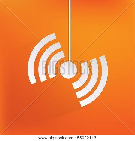 Wireless web icon