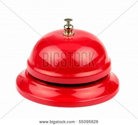 Red service bell .