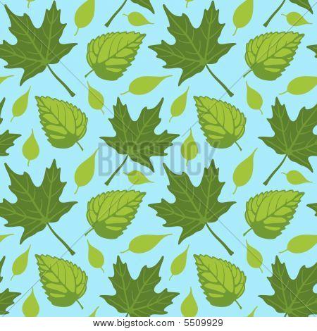 Summer Leaves Seamless