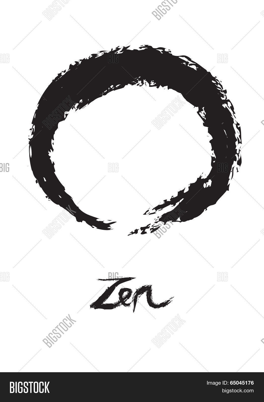 Zen Buddhism Circle Vector Photo Free Trial Bigstock