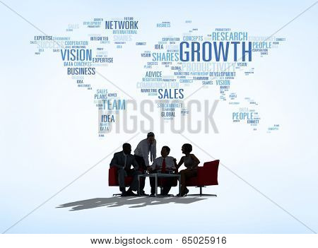 Global Business Meeting poster