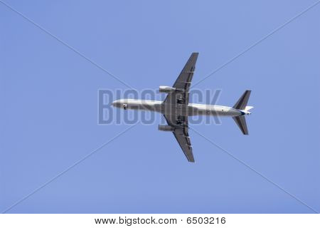 airplane flying in the sky