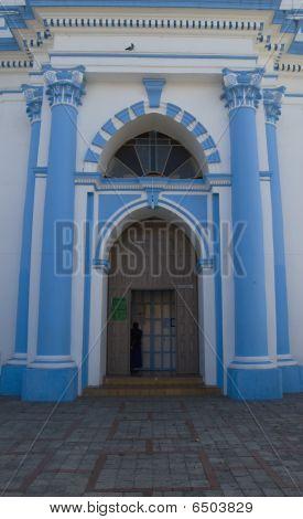 Temple Santa Lucia Entrance