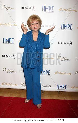 LOS ANGELES - MAY 14:  Debbie Reynolds at the