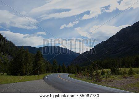 Road Through The Mountains.