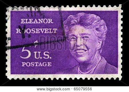 Eleanor Roosevelt Us Postage Stamp