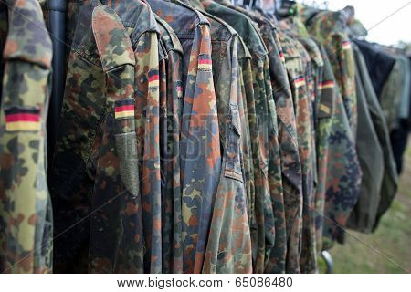 Close-up Of German Uniform.