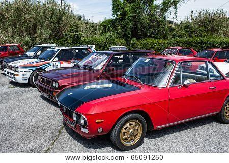 Lancia Delta And Lancia Fulvia Cars