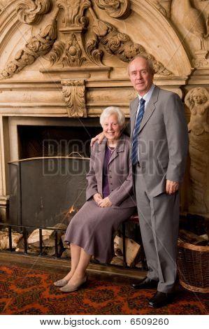 Older Couple Portrait