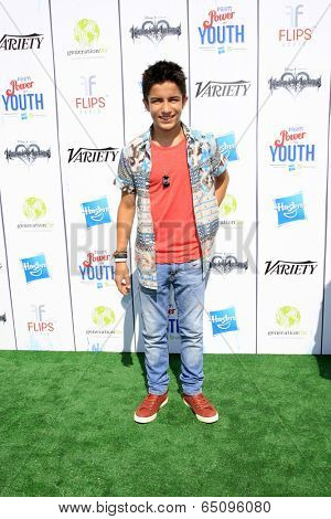 LOS ANGELES - JUL 27:  Aramis Knight at the Variety's Power of Youth  at Universal Studios Backlot on July 27, 2013 in Los Angeles, CA