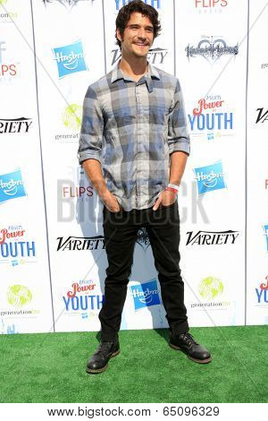 LOS ANGELES - JUL 27:  Tyler Posey at the Variety's Power of Youth  at Universal Studios Backlot on July 27, 2013 in Los Angeles, CA