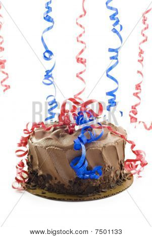 Patriotic Chocolate Cake