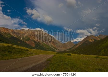 Storm Passes Over Ophir Pass Road