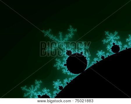 Abstraction fractal Mandelbrot
