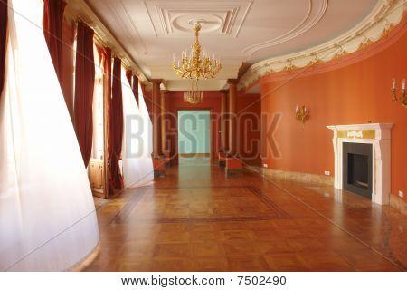 corridor with window