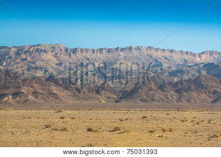 Atlas Mountains Chebika border of Sahara Tunisia poster
