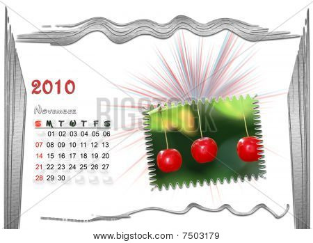 2010  Calendar November
