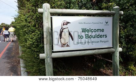 Welcome To Boulders In Cape Town