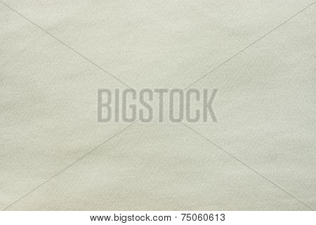 the textured background from synthetic smooth fabric of light tones lime color poster