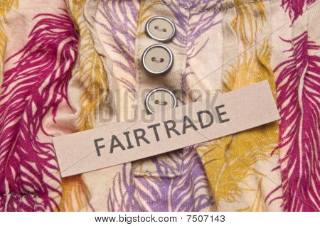 Fair Trade Clothing Concept