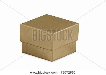 Small Gold Gift Box