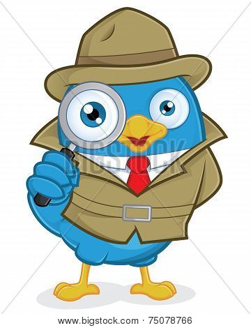 Detective Blue Bird