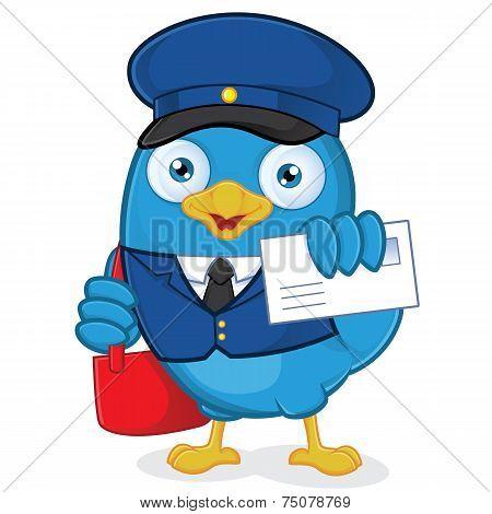 Postman Blue Bird