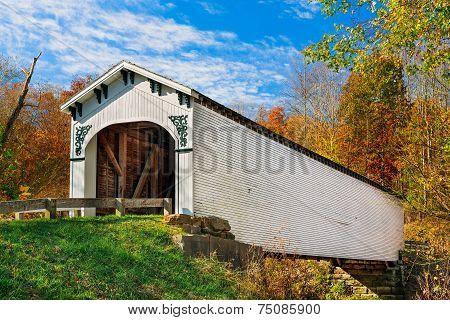 Richland Creek Covered Bridge