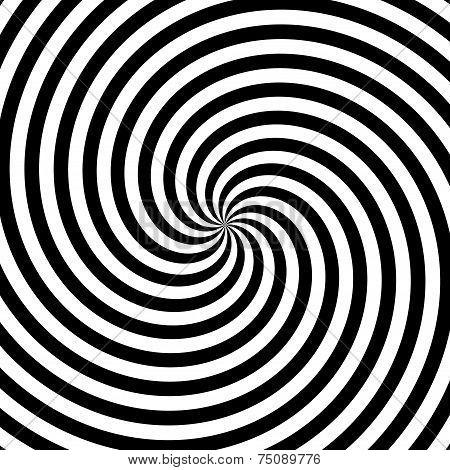 Twirl motion illusion