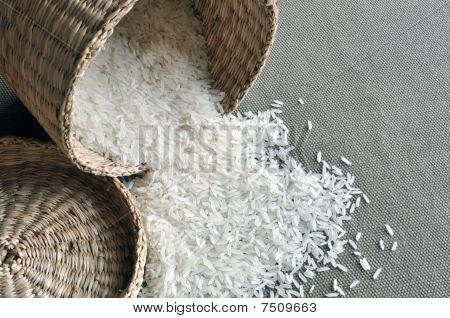 Basket of rice