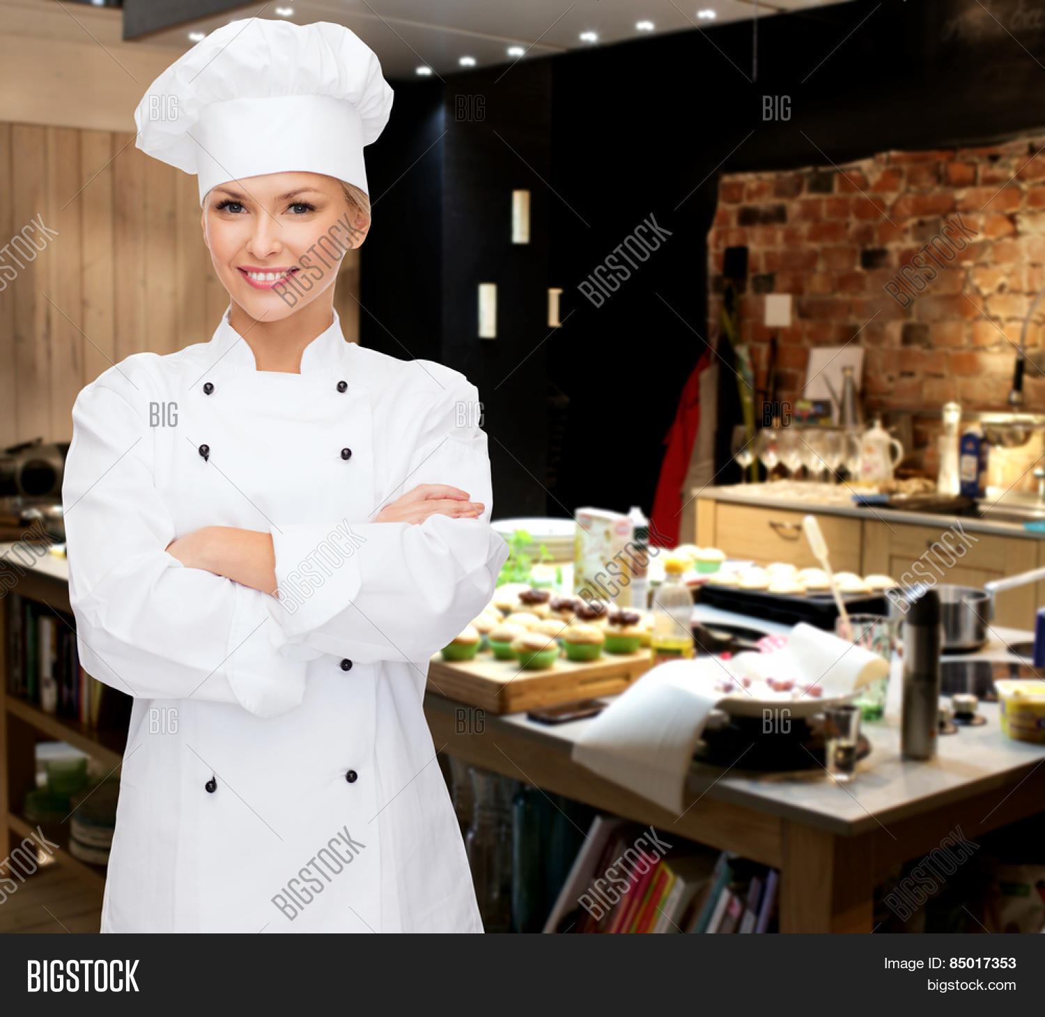 Cooking, Bakery, People Food Image & Photo