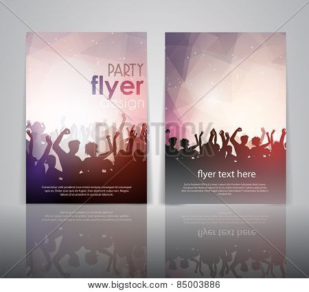 Party people flyer template