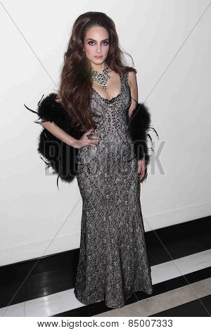 NEW YORK-FEB 24: Alexa Ray Joel poses after her performance in concert at Cafe Carlyle on February 24, 2015 in New York City.