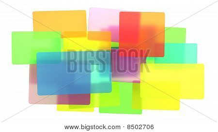 Diversity - Abstract Translucent Rectangles