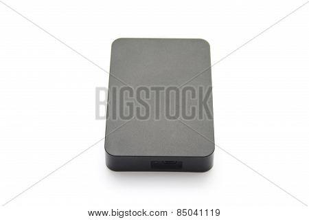 Black External Hard Drive Disk