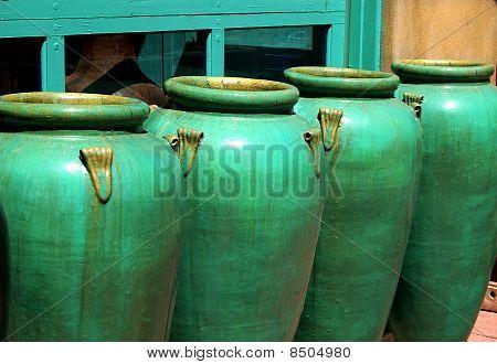 Turquoise Pots