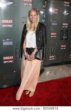 LOS ANGELES - FEB 20:  Cecelia de Lisle at the GREAT British Film Reception Honoring The British Nominees Of The 87th Annual Academy Awards at a London Hotel on February 20, 2015 in West Hollywood, CA