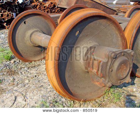 Railway wheels
