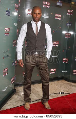 LOS ANGELES - FEB 20:  Ricky Whittle at the GREAT British Film Reception Honoring The British Nominees Of The 87th Annual Academy Awards at a London Hotel on February 20, 2015 in West Hollywood, CA