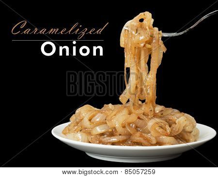 Caramelized Onion With Copy Space