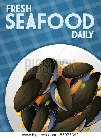 Fresh seafood dish