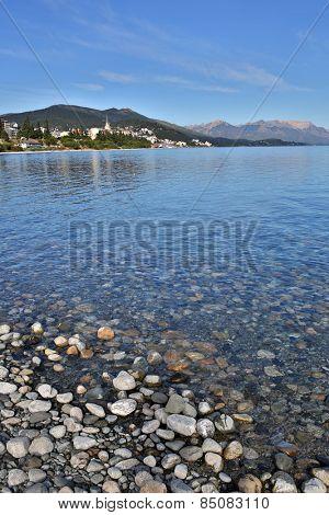 Nahuel Huapi lake and San Carlos de Bariloche in background
